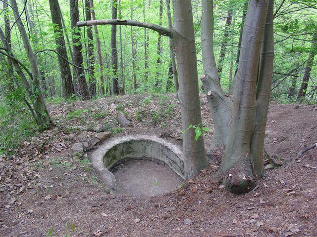 Imagen de uno de los bunkers recuperados en Galdakao